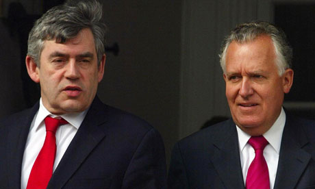 Insider - with Prime Minister Gordon Brown (source: guardian.co.uk)