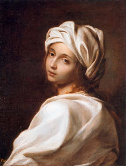 Portrait of La Cenci by Guido Reni (source: wikipedia)