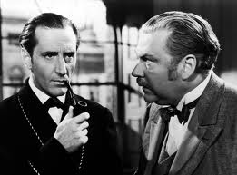 Basil Rathbone - the best Holmes of all. Don't you agree?