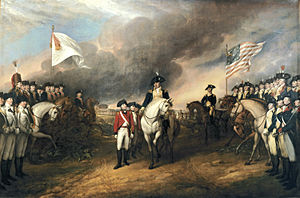 Surrender at Yorktown by John Trumbull