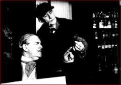 Carleton Hobbs and Norman Shelley