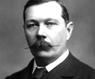 Sir Arthur Conan Doyle and his moustache