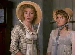 Emma Thompson and Kate Winslett as Elinor and Marianne