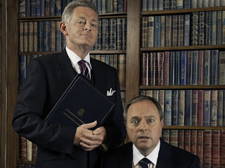 giving his Sir Humphrey Appleby opposite Robert Daws in Yes, Prime Minister