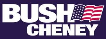 bush cheney banner
