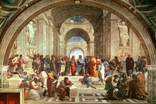 Raphael's The School of Athens (wikipaintings.org)