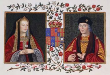 Elizabeth of York and Henry VII Credit: © Stapleton Collection/Corbis