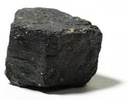 A lump of coal...