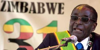 Photo: AFP/Jekesai Njikizana