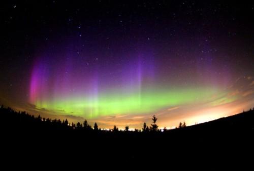 Aurora Borealis  © Philippe Moussette (Obs. Mont Cosmos)