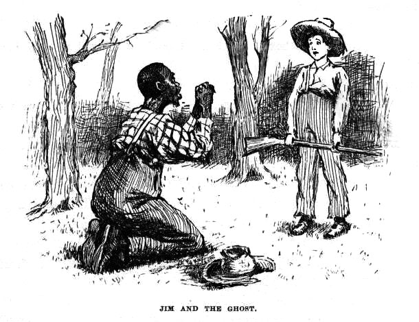 a comparison of huck and jim in the novel huckleberry finn In the beginning of the novel, huck gets frustrated  rather than huck and provides an interesting comparison of tom  jim in the adventures of huckleberry finn.