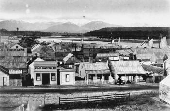 Hokitika township c1870 (en.wikipedia.org)