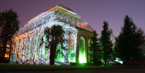 Royal Botanical Gardens dressed up for the Festival