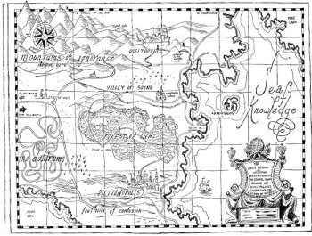 the phantom tollbooth map