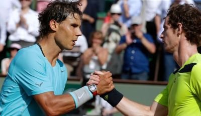 rafa and andy 6th june 2014