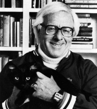 Ray Bradbury plus scary cat...