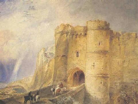 Carisbrooke Castle, Isle of Wight, by JMW Turner
