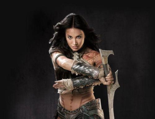Some people say women can't be warriors...but I bet they don't say it when Dejah's around...