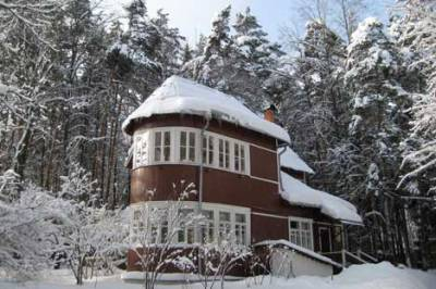 Pasternak's dacha in the Soviet Writers' village of Peredelkino