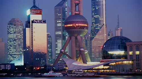 Shanghai. Why? You'll need to read the story to find out...