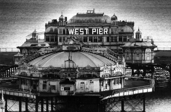 Brighton's iconic West Pier