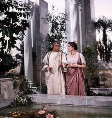Augustus and Livia (Brian Blessed and Siân Phillips) - BBC style