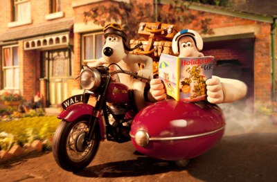 So I picked the only sci-fi classic with no illustrations. But Gromit's pretty much Dog-People, isn't he?