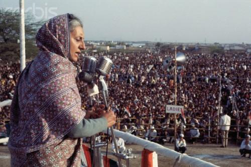 Indira Gandhi Photo © Bettmann/CORBIS