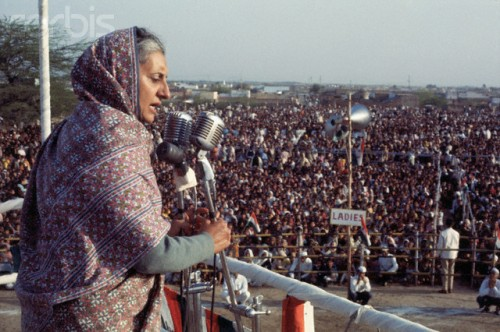 Indira Gandhi Photo © Bettmann/CORBIS