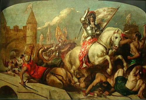 Joan of Arc at the Battle of Orleans by William Etty