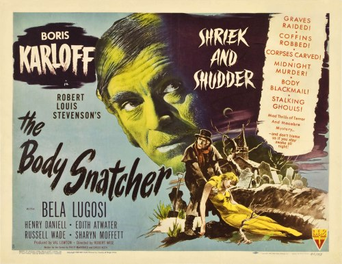 movie poster the body snatcher