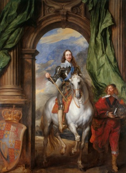 Charles I by van Dyck