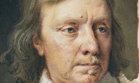 Oliver Cromwell by Samuel Cooper I fear the only things I know about Cromwell are that he was no fun and had warts...