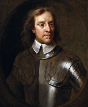 Oliver Cromwell by Samuel Cooper