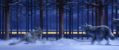 polar express wolves