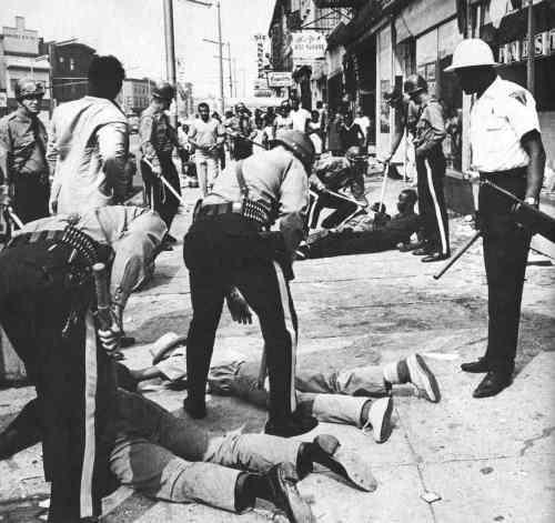 Newark race riots