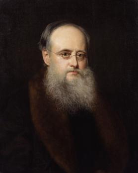 William Wilkie Collins Portrait by Rudolph Lehmann