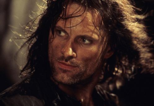 Aragorn Viggo Mortensen - a very, very, very fine actor indeed! Oh yes!