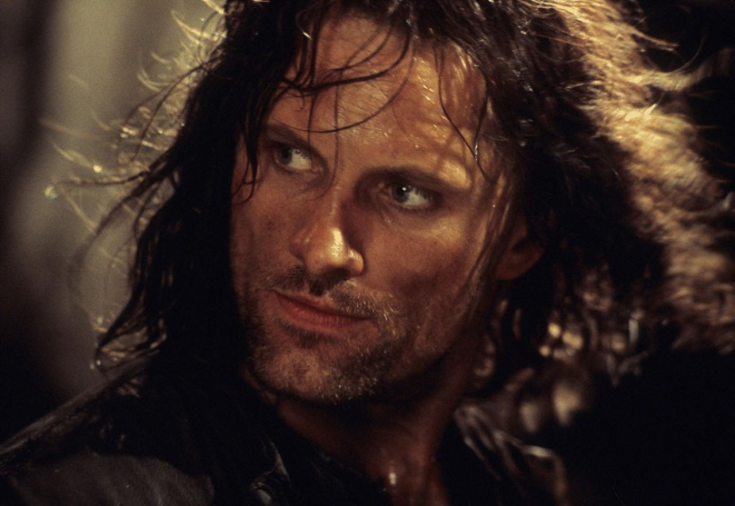 Aragorn Viggo Mortensen - a very, very, very fine actor indeed! Oh yes!