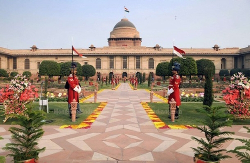 Rashtrapati Bhavan formerly known as Viceroy's House, New Delhi