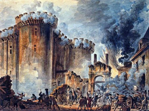 Storming of the Bastille Jean-Pierre Houel