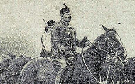 The London Scottish Regiment becomes the first Territorial regiment to see action 05-11-1914 Photo: The Telegraph