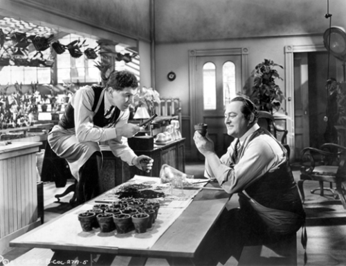 Edward Arnold & Lionel Stander as Wolfe and Archie in the 1936 film