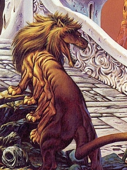 Banth by Joe Jusko - he's just a big pussy cat really though...