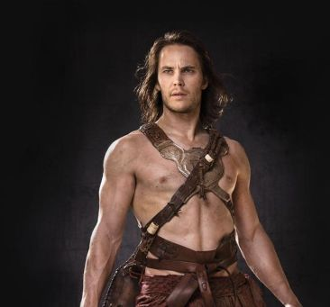 John Carter... not naked, thankfully! Ahhh...