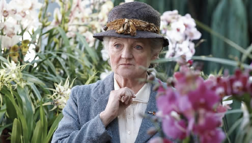 Julia McKenzie - great actress and a fine Miss Marple, but oh, how they messed up the stories...
