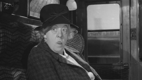 Margaret Rutherford as the most unlikely Miss Marple ever - but great fun!