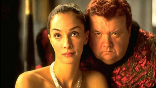 Alia and the Baron Harkonnen from the 2003 TV Mini Series - imagine having him inside your head!
