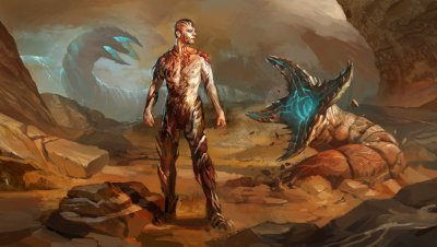 Dune Leto II - The Tyrant by andrewryanart who seems also to have decided to age him.