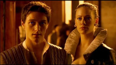 Leto and Ghanima from the 2003 TV Mini Series, which clearly decided to age the 9-year-old twins considerably...